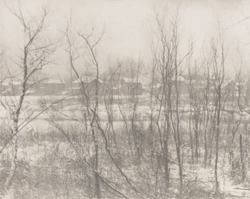 Landscape – Winter White, Clarence H.  (American, 1871-1925)