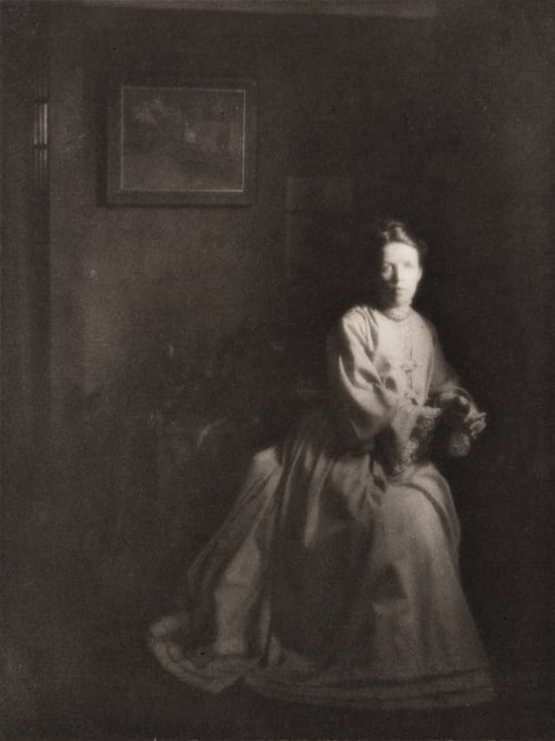 Portrait – Mrs. Clarance H. White White, Clarence H.  (American, 1871-1925)