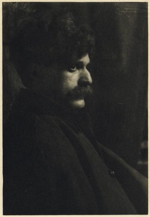 Mr. Alfred Stieglitz Eugene, Frank  (American, 1865-1936)