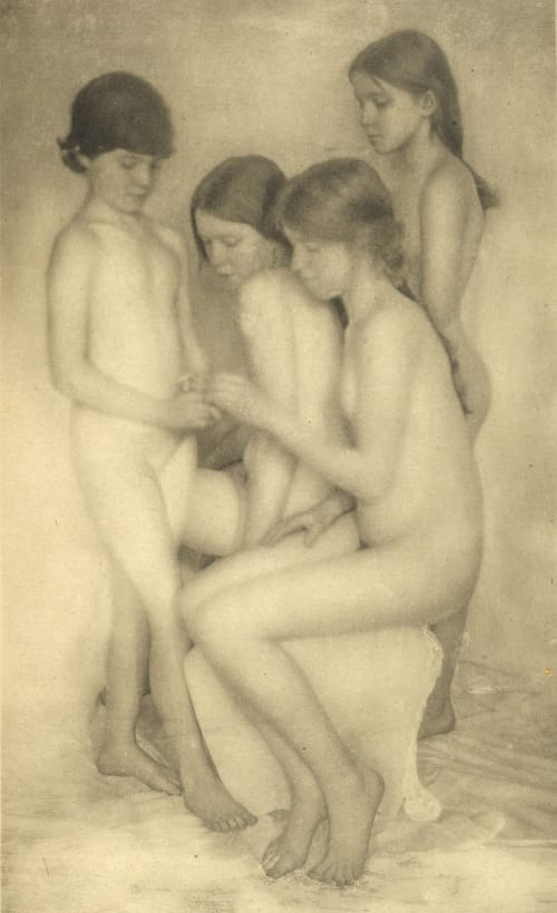 Nude Boughton, Alice  (American, 1866-1943)