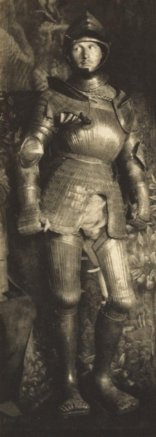 Man in Armor Eugene, Frank  (American, 1865-1936)