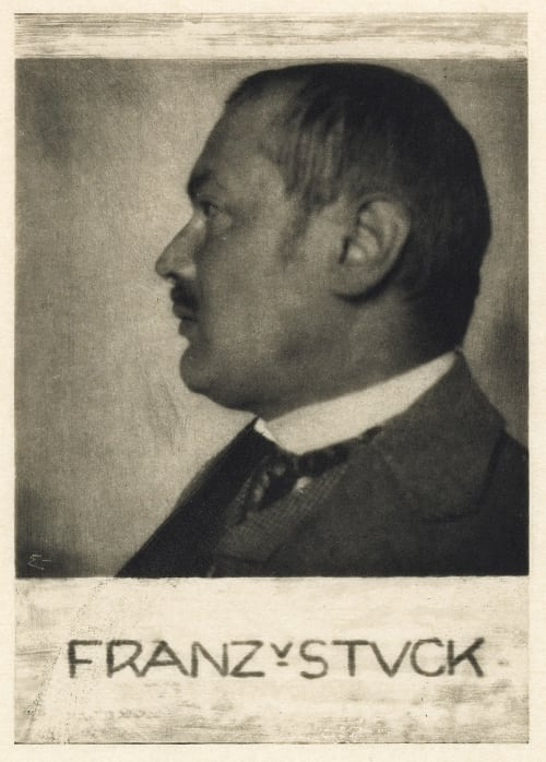 Prof. Franz v. Stuck Eugene, Frank  (American, 1865-1936)