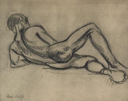 Photogravure of Drawing Matisse, Henry  (French, 1869-1954)