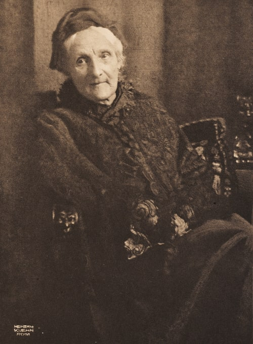 Portrait – Meine Mutter Kuehn, Heinrich  (Austrian-German, 1866-1944)