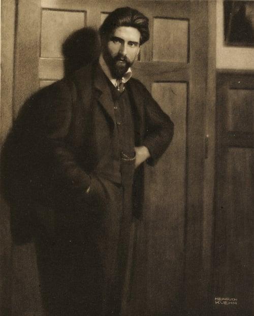Portrait Kuehn, Heinrich  (Austrian-German, 1866-1944)
