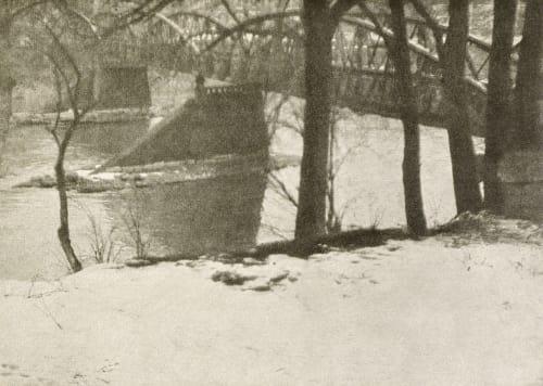 Winter Landscape Kuehn, Heinrich  (Austrian-German, 1866-1944)