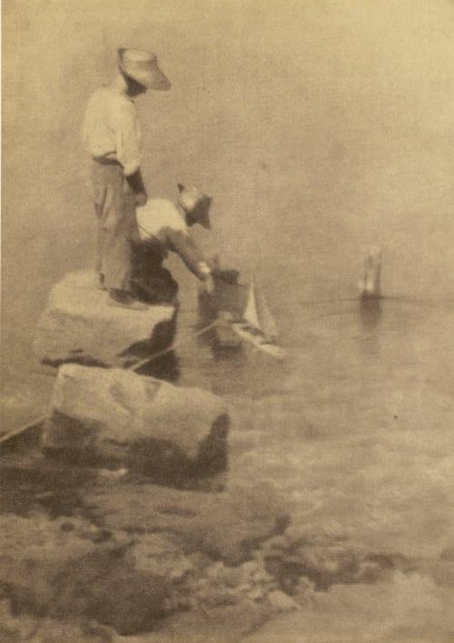 Sailing Boats Kuehn, Heinrich  (Austrian-German, 1866-1944)