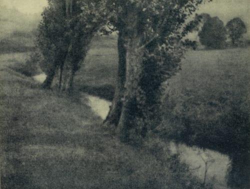 Landscape Kuehn, Heinrich  (Austrian-German, 1866-1944)