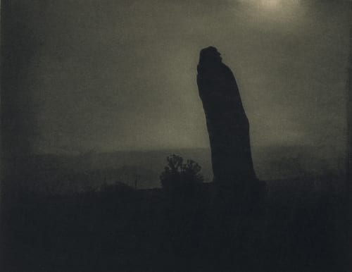 Balzac – The Silhouette, 4am Steichen, Edward  (American, 1879-1973)