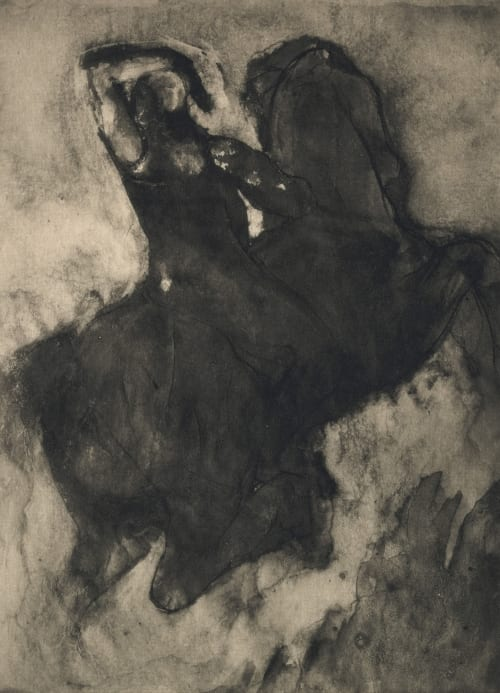 Photogravure of Drawing II Rodin, Auguste  (French, 1870-1917)