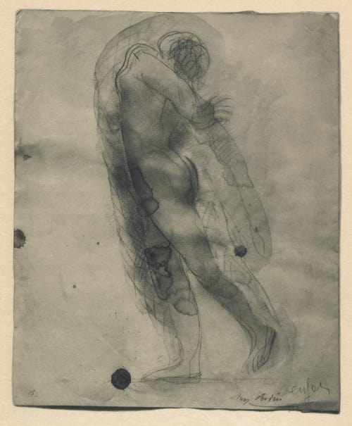 Photogravure of Drawing I Rodin, Auguste  (French, 1870-1917)