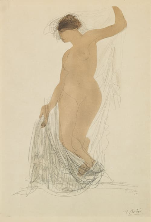 Drawing Rodin, Auguste  (French, 1870-1917)