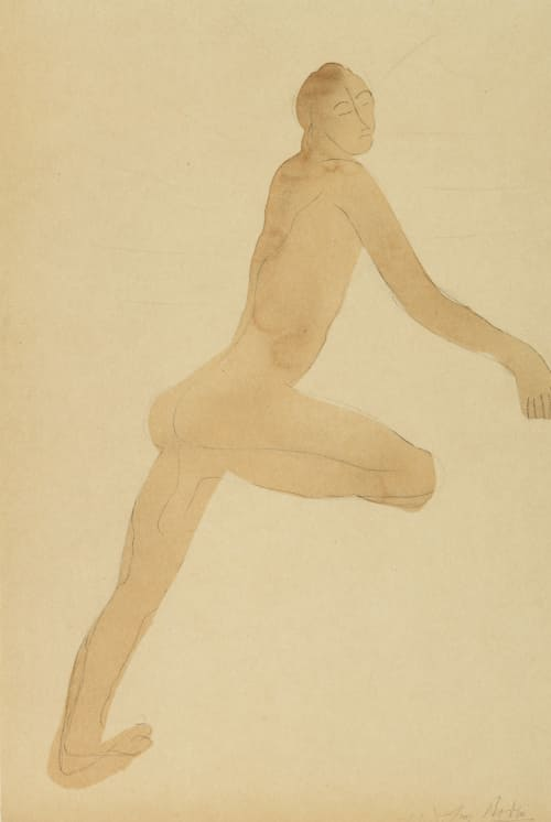 Drawing (Sun Series) Rodin, Auguste  (French, 1870-1917)