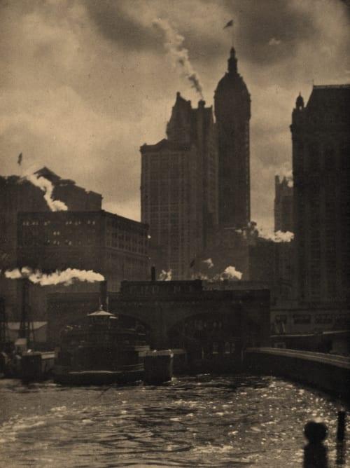 The City of Ambition Stieglitz, Alfred  (American, 1864-1946)