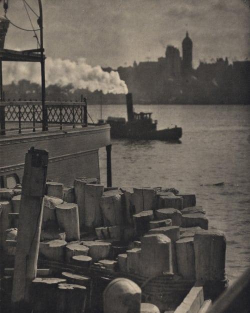 The City Across the River Stieglitz, Alfred  (American, 1864-1946)