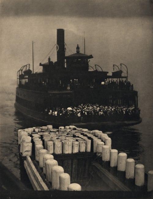 The Ferry Boat Stieglitz, Alfred  (American, 1864-1946)