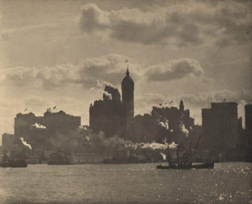 Lower Manhattan Stieglitz, Alfred  (American, 1864-1946)