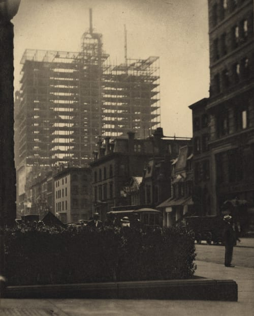 Old and New New York Stieglitz, Alfred  (American, 1864-1946)