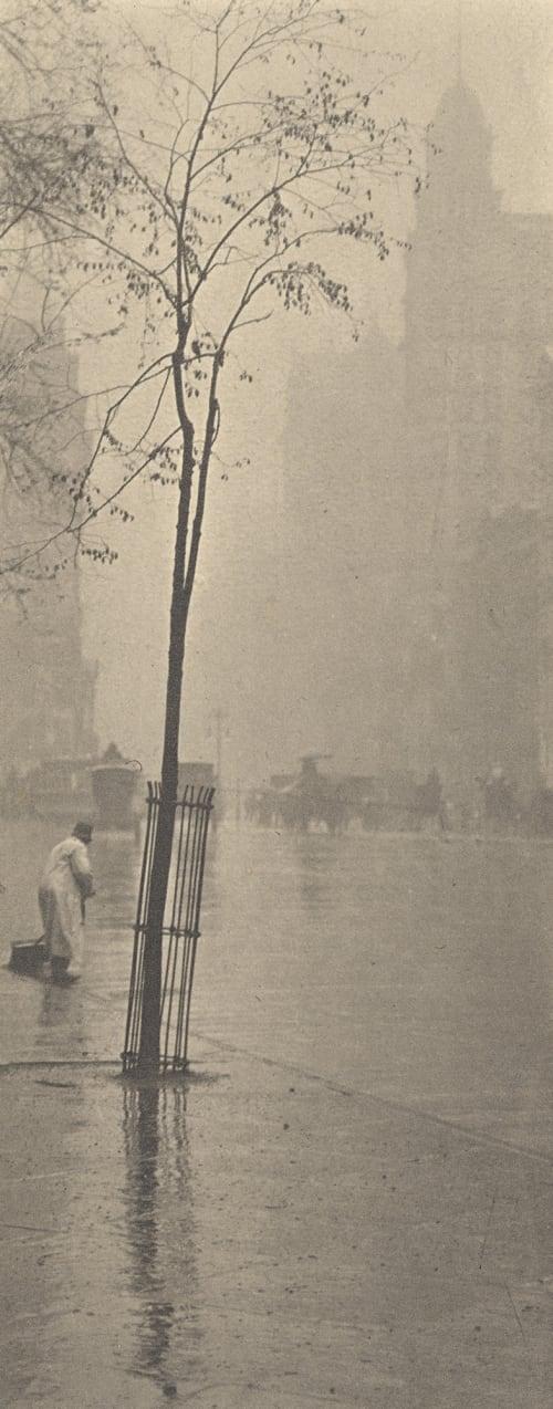 Spring Showers Stieglitz, Alfred  (American, 1864-1946)