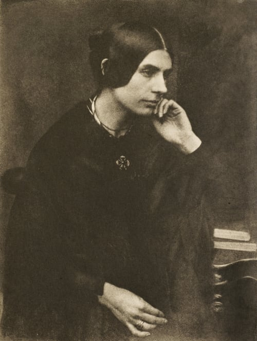 Lady in Black Hill, David Octavious  (Scottish, 1802-1870)Adamson, Robert  (Scottish, 1821-1848)