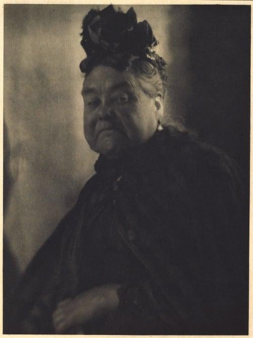 Mrs. Wiggins of Belgrave Square De Meyer, Baron Adolf  (American, 1868-1946)
