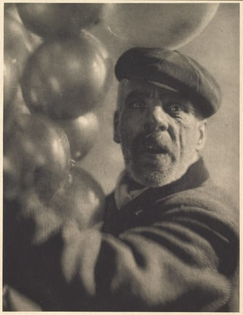 Ballon Man De Meyer, Baron Adolf  (American, 1868-1946)