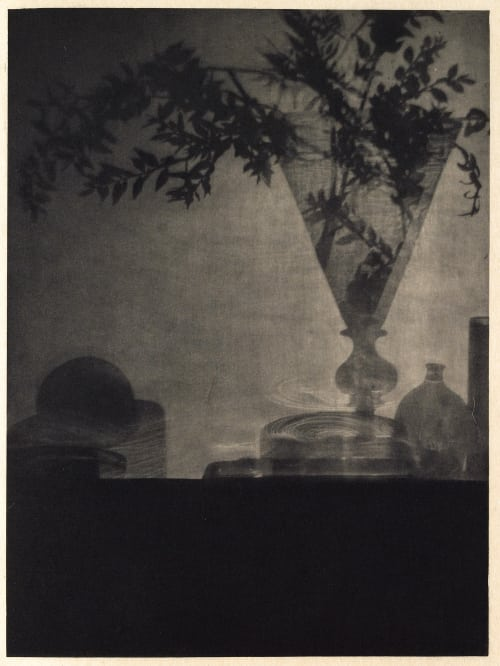 Glass and Shadows De Meyer, Baron Adolf  (American, 1868-1946)