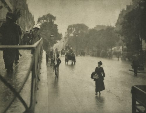 A Snapshot Paris Stieglitz, Alfred  (American, 1864-1946)