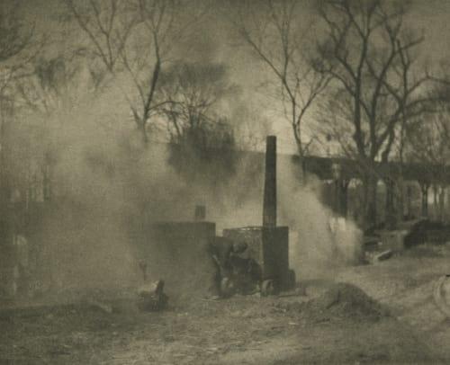 The Asphalt Paver; New York Stieglitz, Alfred  (American, 1864-1946)
