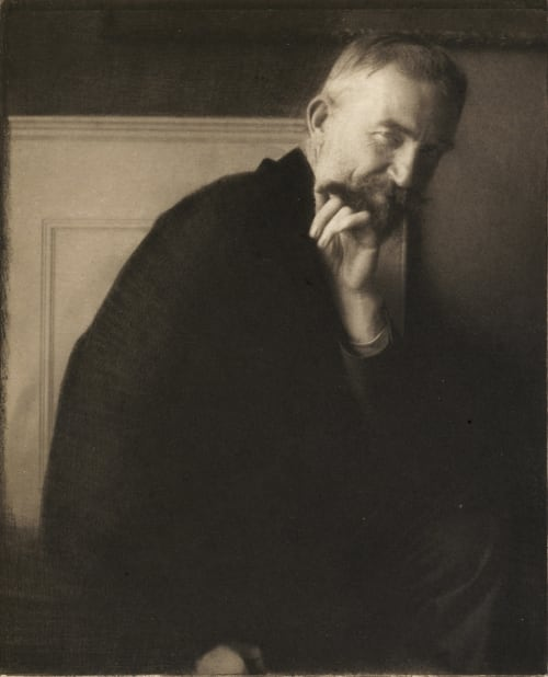The Photographer's Best Model – G. Bernard Shaw Steichen, Edward  (American, 1879-1973)