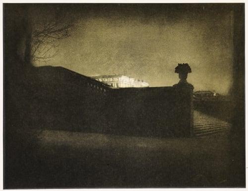 Nocturne-Orangerie Staircase Steichen, Edward  (American, 1879-1973)