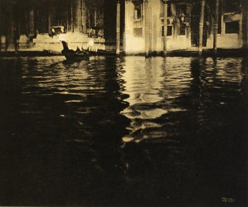 Late Afternoon – Venice Steichen, Edward  (American, 1879-1973)