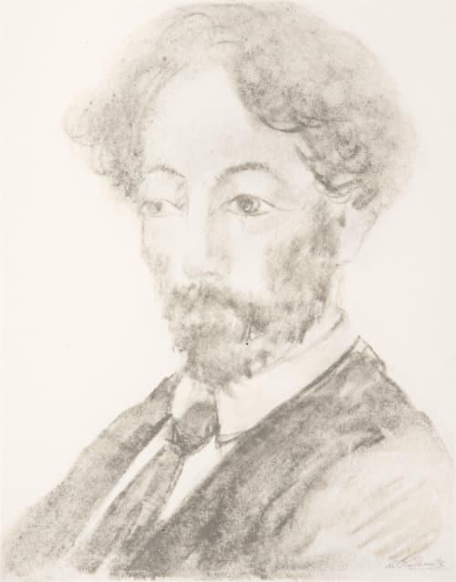 Portrait Walkowitz, Abraham  (American, 1848-1906)
