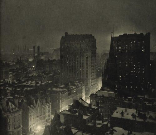 New York at Night Haviland, Paul B.  (French, 1880-1950)