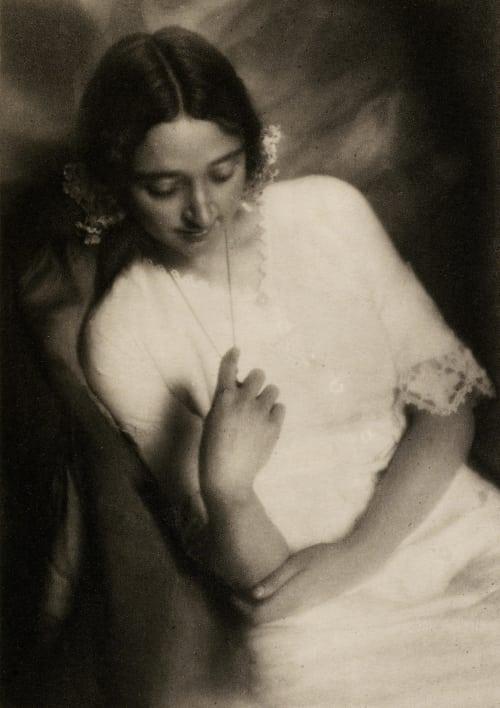 A Portrait Bruguiere, Francis Joseph  (American, 1879-1945)