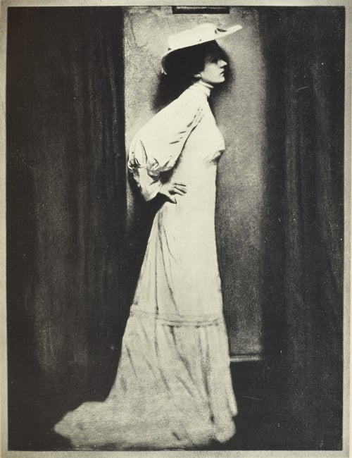 Lady in WHite Steichen, Edward  (American, 1879-1973)