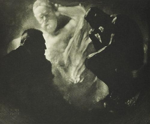 Rodin-Le Penseur Steichen, Edward  (American, 1879-1973)