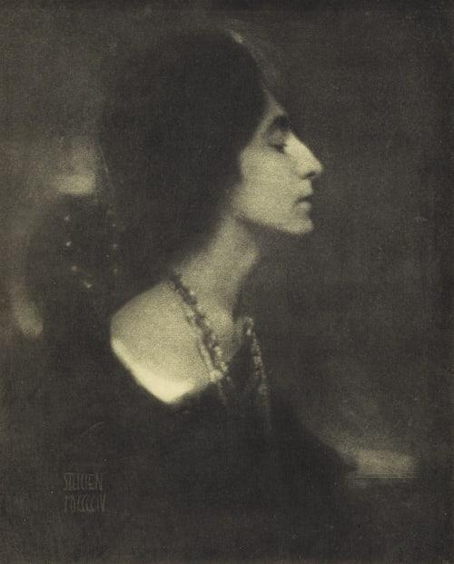 Profile Steichen, Edward  (American, 1879-1973)