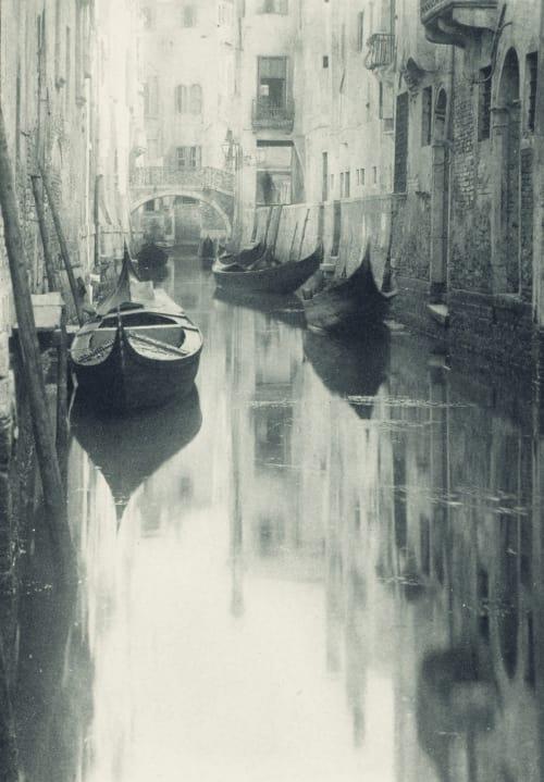 A Bit of Venice Stieglitz, Alfred  (American, 1864-1946)