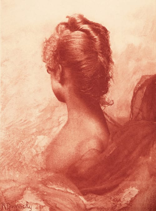 Study in Red Demachy, Robert  (French, 1859-1936)