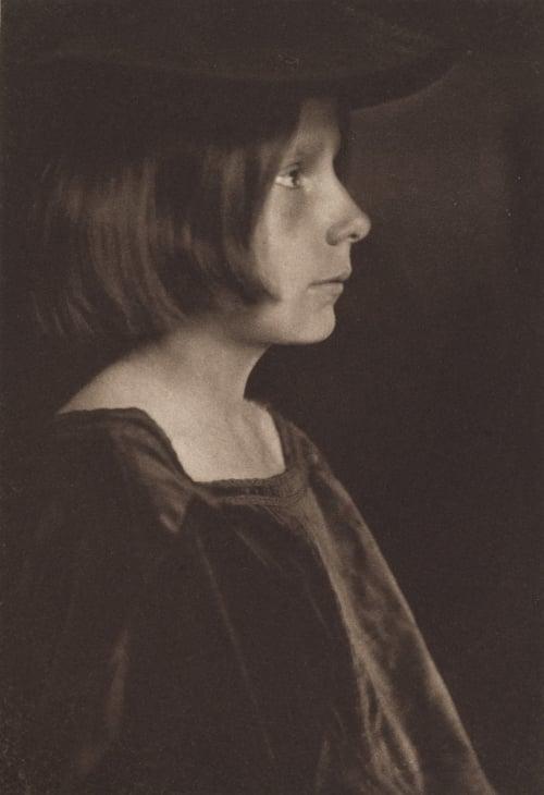 Portrait Study Kasebier, Gertrude  (American, 1852-1934)