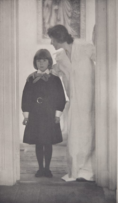 Blessed Art Thou among Women Kasebier, Gertrude  (American, 1852-1927)