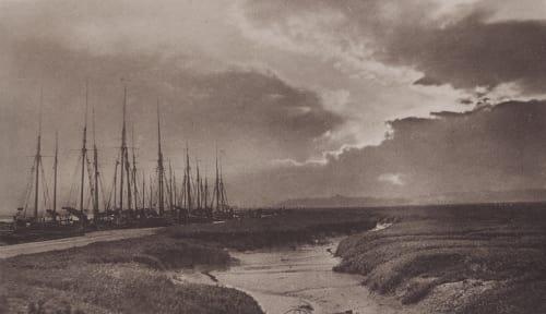 A Stormy Evening Bennett, Lionel C.  (British, b.1853)