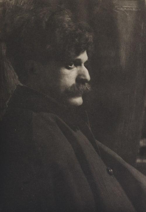 Portrait of Alfred Stieglitz Eugene, Frank  (American, 1865-1936)