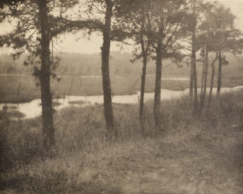 Decorative Landscape Abbott, C. Yarnall  (American, 1870-1938)