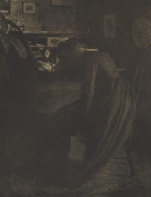 Bad News Stirling, Edmund  (American, 1861-1948)