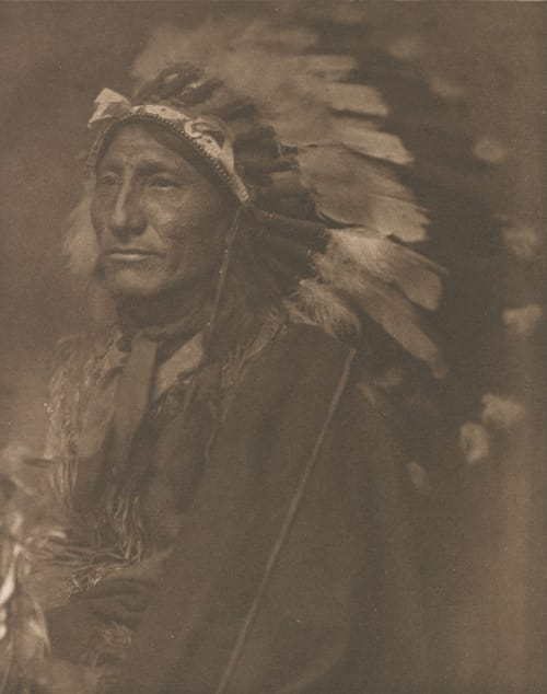 Indian Chief Kasebier, Gertrude  (American, 1852-1934)