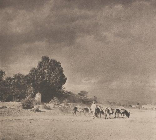 Approaching Storm Maurer, Oscar  (American, 1871-1965)