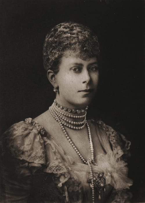 H.R.H. the Dutchess of Cornwalland York Histed, Ernest Walter  (British, 1862-1947)