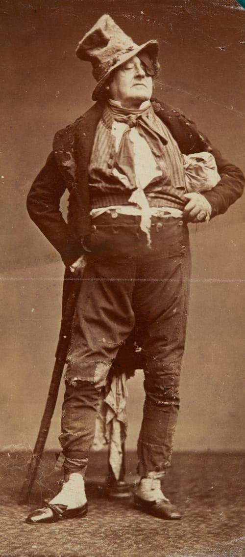 Frédérick Lemaître Carjat, Etienne  (French, 1828-1906)